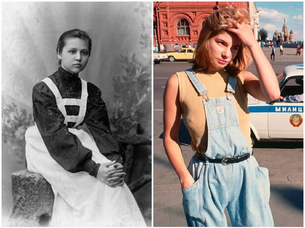 Как менялся внешний вид русских женщин на протяжении 20 столетия