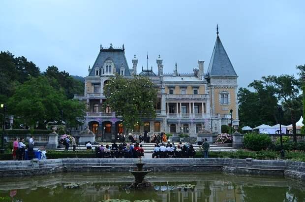 «Чарующее музыки звучанье» в Массандровском дворце