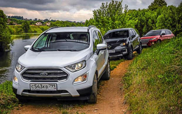 Большой тест кроссоверов: обновленный Ford EcoSport и конкуренты