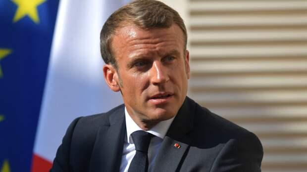 Макрон заявил, что полностью разделяет желание Байдена начать диалог с Россией