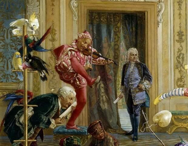 К чему привела мода на «дураков» при дворе: исторические факты
