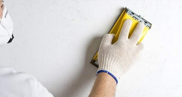 Как шлифовать стены, видео-советы