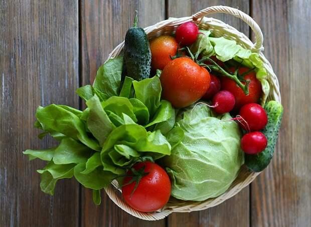 Сырые овощи не помогают организму восстановиться после нагрузок. / Фото: goodfon.ru
