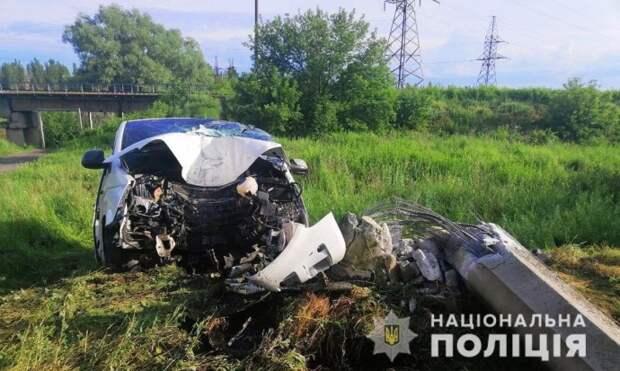 Смертельное ДТП в Славянске