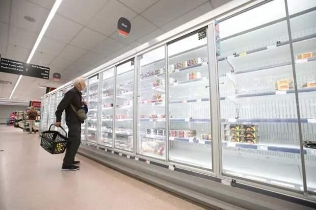 Британцы опасаются нехватки продуктов в преддверии Рождества