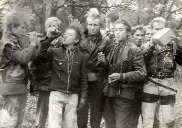 70 искренних фотографий эстонской панк-культуры 1980-х годов 14
