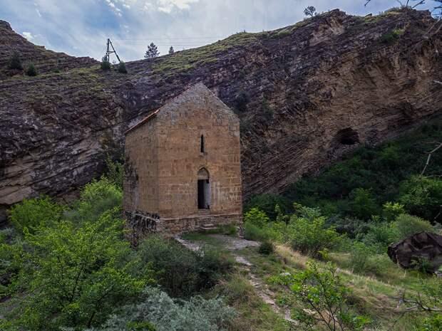 Датунский храм в Дагестане (Хв.), самый древний и необычный (Иллюстрация из открытых источников)