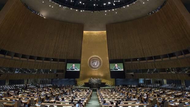 Россия внесла в Генассамблею ООН резолюцию по борьбе с коронавирусом