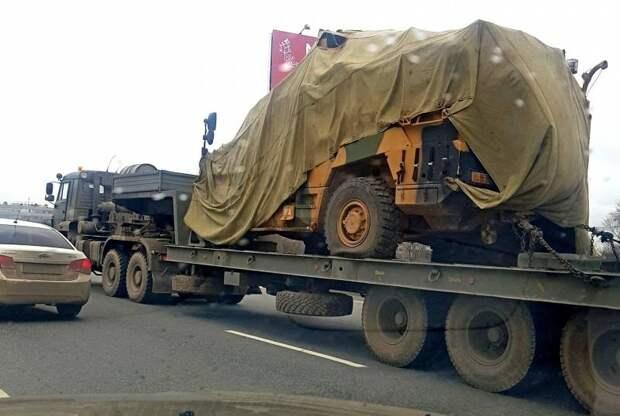 Трофейный турецкий бронеавтомобиль «Vuran» заметили в России