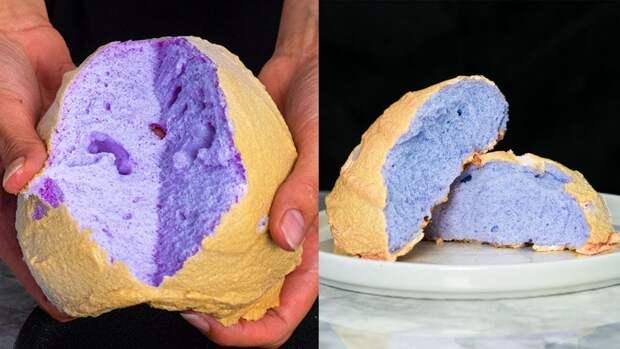 Как приготовить цветное хлебное облако из Тиктока?