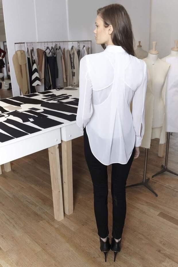 Две спинки на рубашках