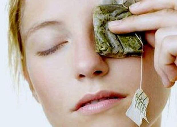 Народные средства при сухости глаз: помогут зеленый чай и примочки из трав