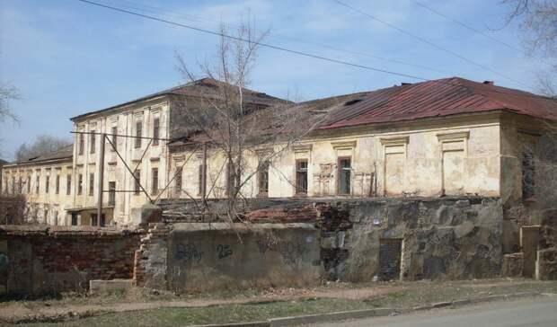 Вполуразрушенных Михайловских казармах Оренбурга создадут культурный центр