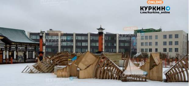 Фестивальную площадку в Куркине готовят к летнему сезону