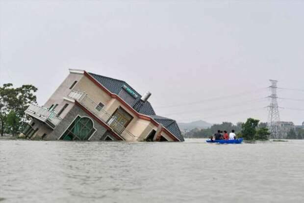 Наводнение в Китае 2020