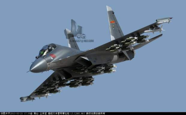 Shenyang J-16 и Су-30МКИ: соперничество истребителей продолжается
