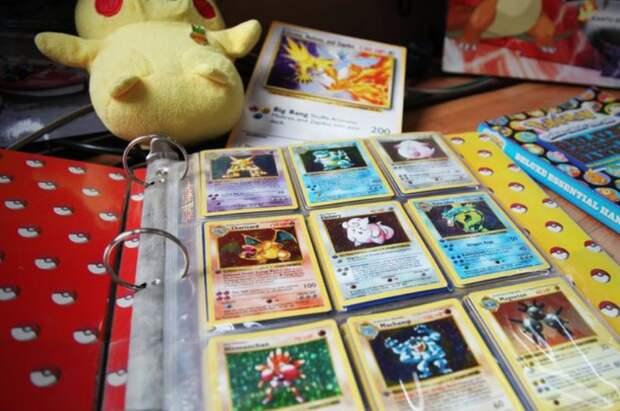 Коллекцию карточек Pokemon, принадлежащую британцу, оценили в35000 фунтов