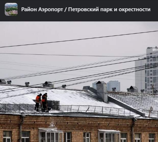 Фото дня: бесстрашные работники «Жилищника» на Усиевича