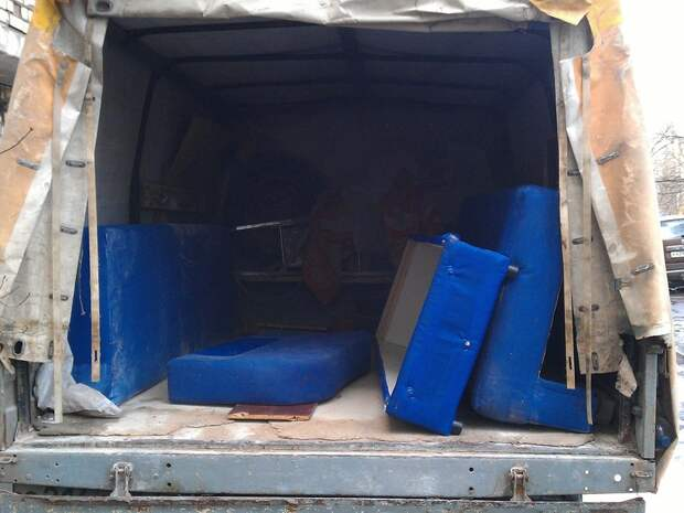 Утилизация строительного мусора, мебели и техники в Москве — компания «Хламовозов»