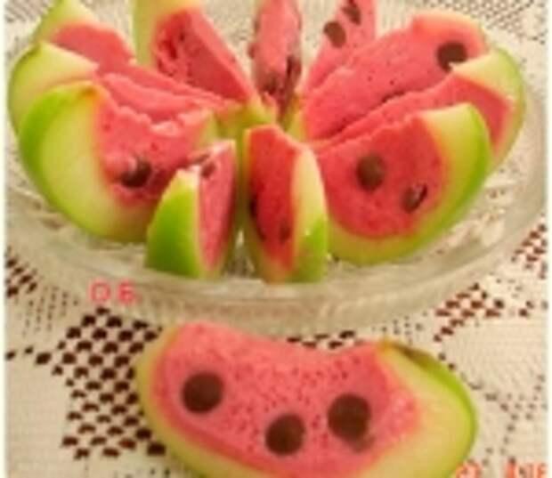 Десерт Арбузные дольки.