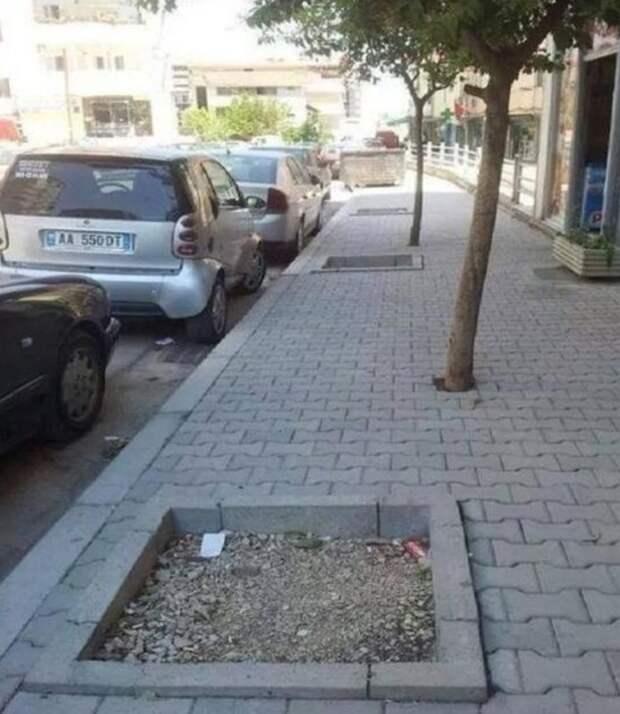 ландшафтный дизайн провал