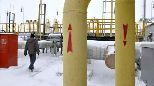 Транзит русского газа через Украину упал до минимума за 30 лет