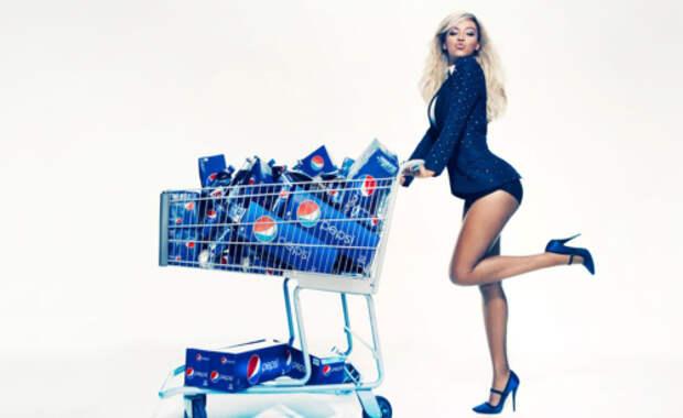 Pepsi подписал $50-милионный контракт с Бейонсе