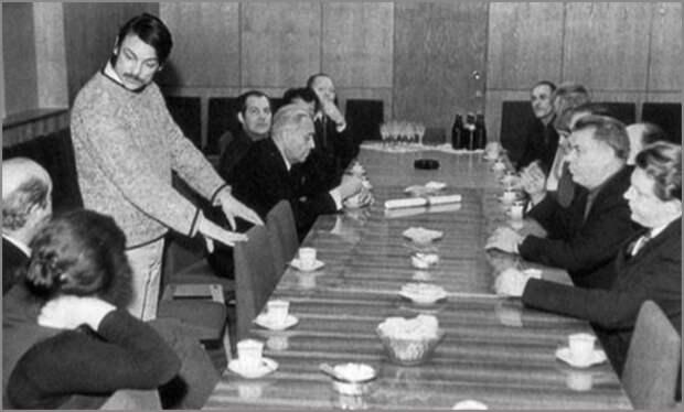 Обсуждение фильма «Солярис» на худсовете «Мосфильма», 1971. С сайта https://bestlj.ru