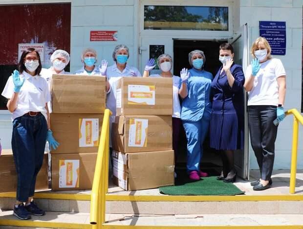 Активисты ОНФ передали больницам средства защиты