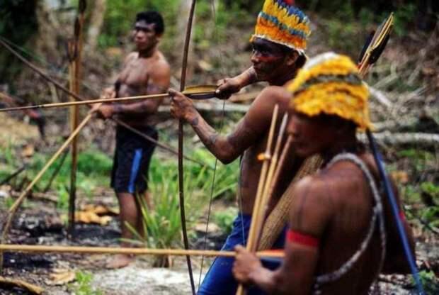 Как рыбачат и охотятся индейцы Амазонии