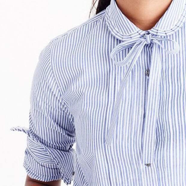 Рубашки в полоску (идеи)