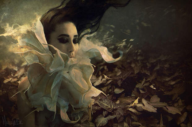 Digital art & Photo-illustration by Marcela Bolivar