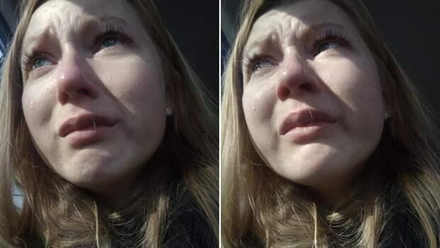 Девушка потеряла собаку, а три года спустя увидела её вновь
