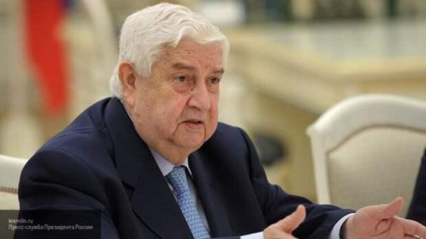 Дипломат Богданов выразил соболезнования в связи со смертью главы МИД Сирии