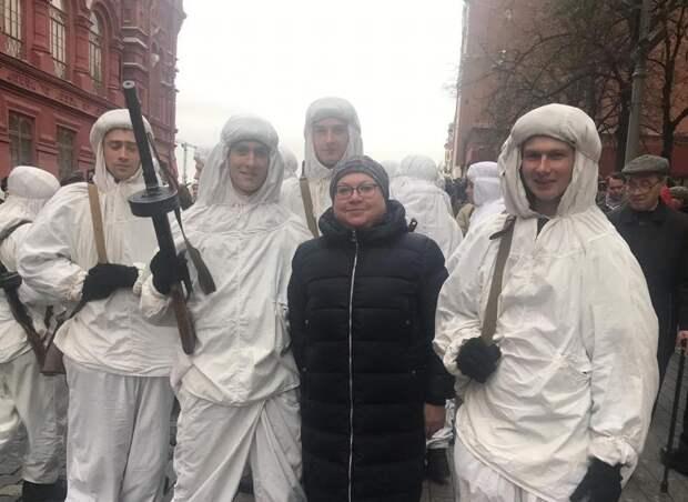 Ветераны из Северного приняли участие в параде на Красной площади Фото: управа района Северный
