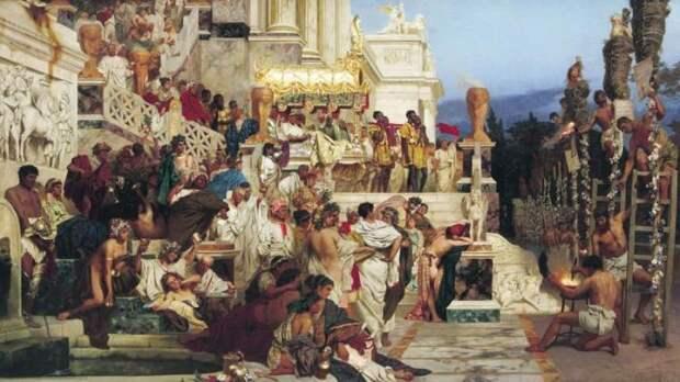 В древнем Риме младенец при рождении ещё не считался человеком, а потому и детоубийство в те времена не было чем-то аморальным. Ещё до появления контрацепции женщина легко могла избавиться от ребёнка после рождения исторические факты, история, факты, человечество