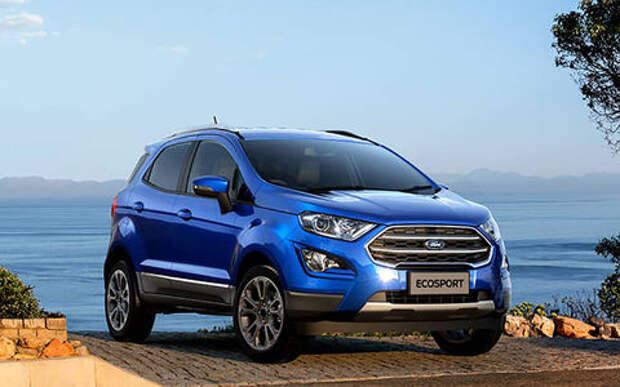 Обновленный Ford EcoSport в России: новые опции и новые цены