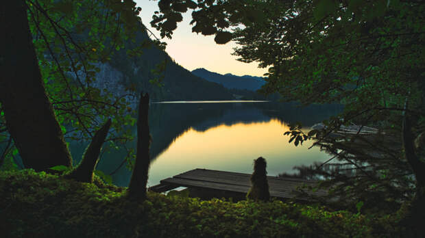 Window to the cam Lake by Martin Gräter on 500px.com