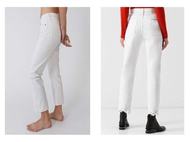Всего одни джинсы на весну — белоснежные (фото 3)