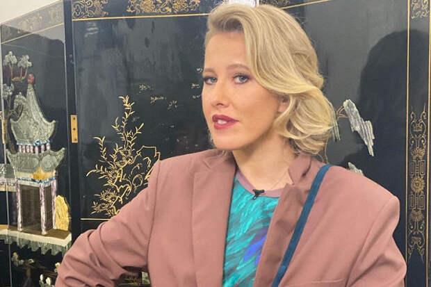 Ксения Собчак показала поклонникам подросшего сына