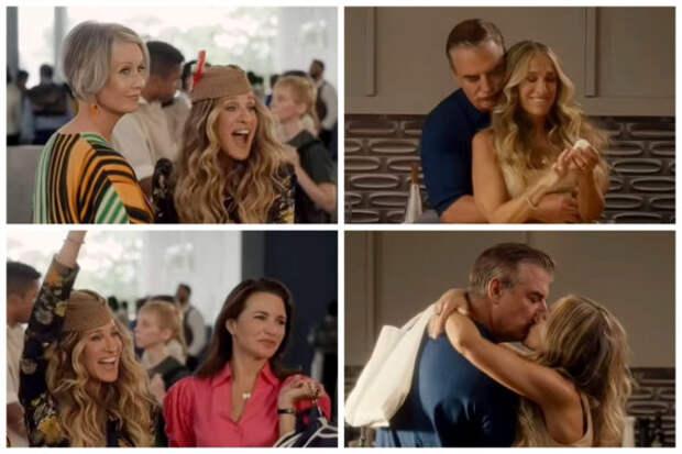 Посмотрите, как Кэрри танцует с Бигом в первом тизе...