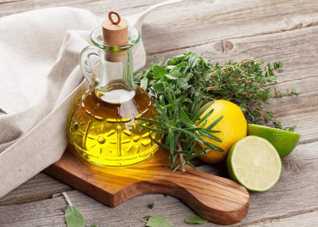 Растительное масло с цитрусовыми