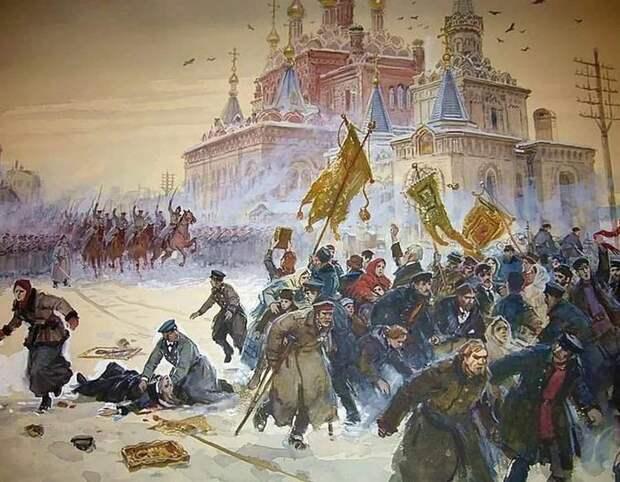 Январь 1905 и февраль 2021 - уроки истории, которые никто не выучил