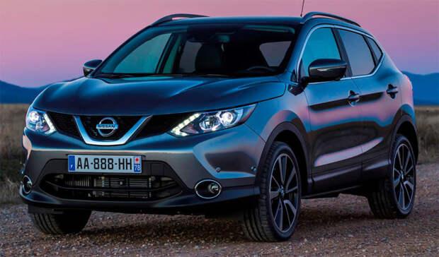 Второе поколение Nissan Qashqai начали продавать в 2014 году. | Фото: topruscar.ru.
