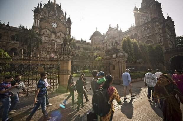 Вокзал Чхатрапати–Шиваджи, Мумбай, Индия