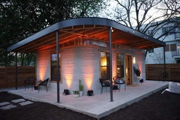 Этот дешевый 3D-печатный дом можно построить всего за сутки в мире, дом, стройка, сша, удивительно