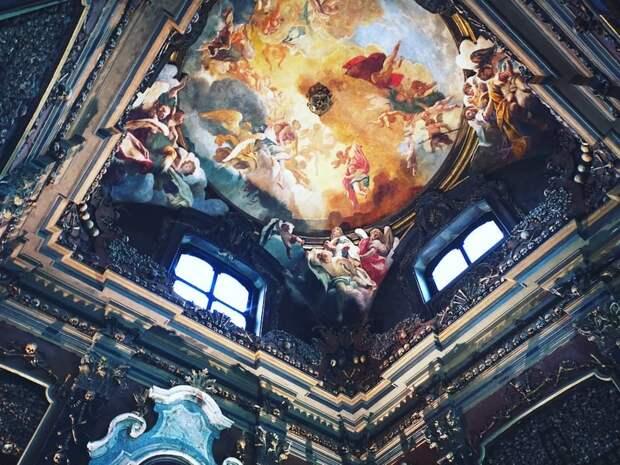 Прогулка по секретному Милану: церковь Сан-Бернардино-алле-Осса