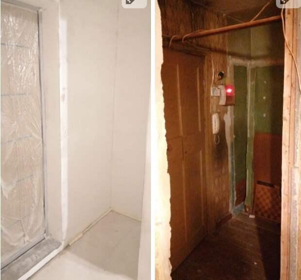 Ремонт в старой хрущевке за месяц. Первый опыт. Фото до и после.