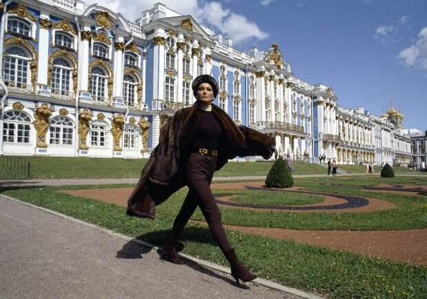 Карла Бруни в Петербурге. 1992 год