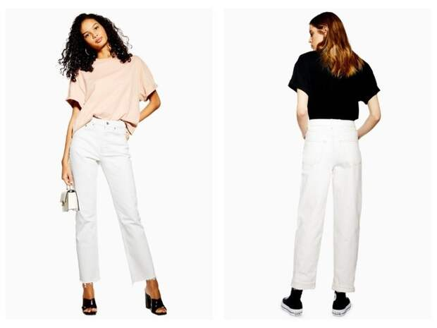 Всего одни джинсы на весну — белоснежные (фото 9)